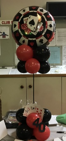 Birthday Balloon Centrepiece