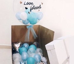 Balloon in box