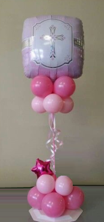 Communion Balloon Centrepiece