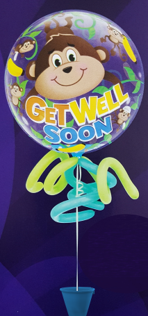 Get Well Balloon Centrepiece